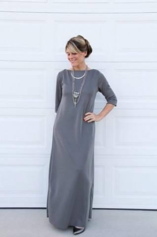 Элегантное летнее платье своими руками без выкройки