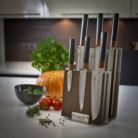 Нужные идеи: как сделать подставку для ножей своими руками