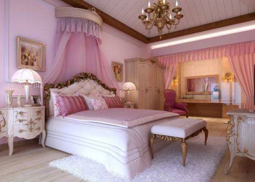Такие разные стили дизайна спальни
