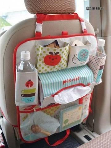 Детский органайзер в автомобиль