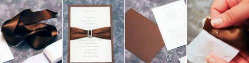 Как сделать элегантные пригласительные на свадьбу своими руками