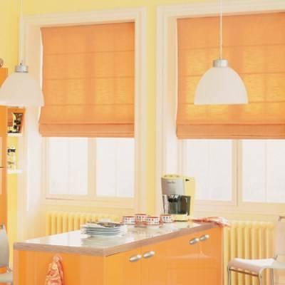 образцы штор для кухни