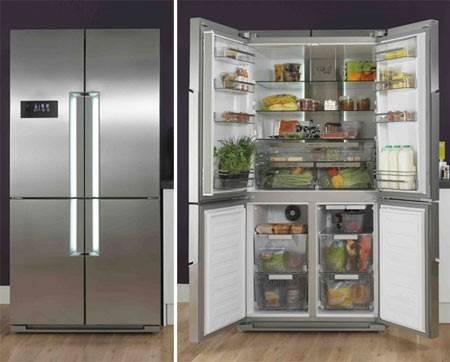 Как содержать в чистоте и огромный и самый маленький холодильник. 10 очень полезных советов.
