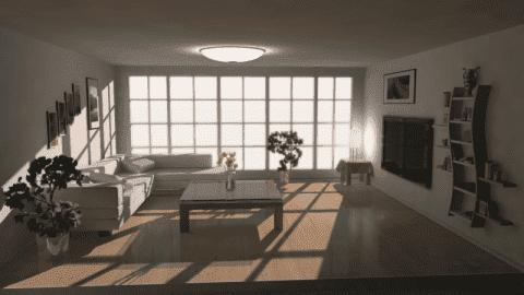 Как темную комнату сделать светлее?