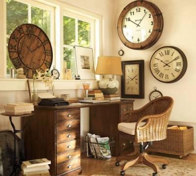 Часы - незаменимый предмет интерьера. Какие часы лучше выбрать для дома.