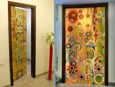 Как декорировать дверь, превратив ее в эффектный элемент интерьера.