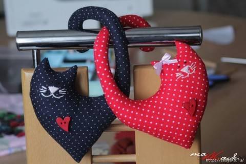 Котики-сердечки ко Дню Святого Валентина