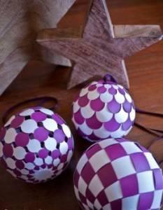 Великолепные шары на елку своими руками