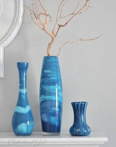 Креативные вазы для украшения интерьера