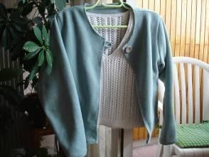 Куртка из старых свитеров своими руками 15