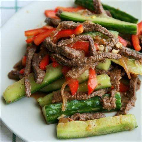 Пикантный салат по-корейски