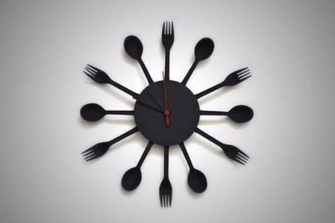 Дизайнерские часы на кухню? Легко!