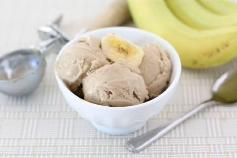 Нежное мороженое из бананов