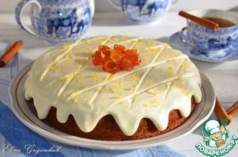 Простой, но очень вкусный и густой сметанно-лимонный крем для торта