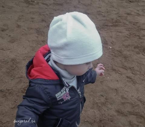 Универсальная флисовая шапочка для ребенка