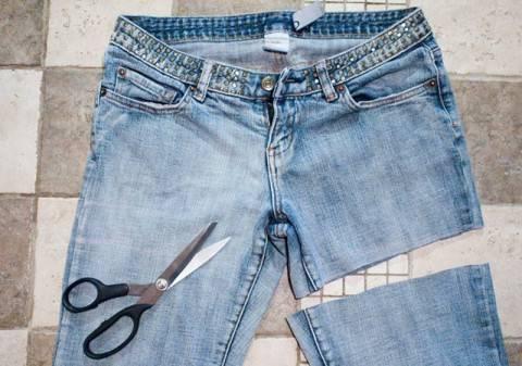 Как с первого раза одинаково обрезать джинсы